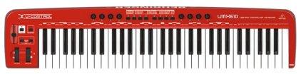 Миди-клавиатура Behringer UMX610