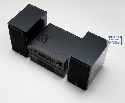 Музыкальный центр Pioneer P1-K black (S-P01-LR + XC-P01-K)