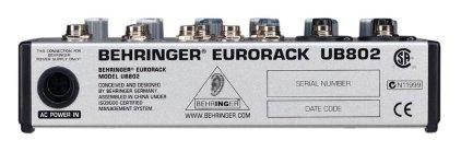 Микшер Behringer UB802