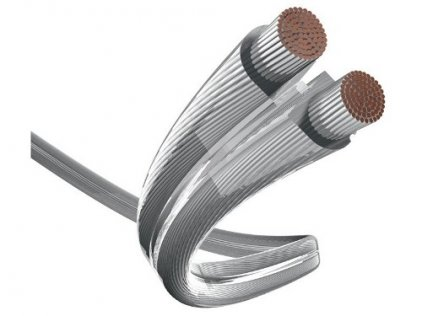 Акустический кабель In-Akustik Premium LS Silver 2x4.0 mm2 м/кат (катушка 100м) #0040214