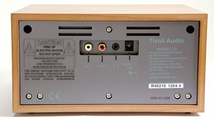 Музыкальный центр Tivoli Audio Model CD cherry/silver (MCDSLCB)