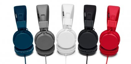 Наушники URBANEARS PLATTAN Plus Dark Grey