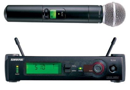 Вокальная радиосистема Shure SLX24/58 L4E 638-662 MHz