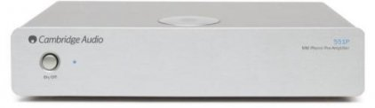Фонокорректор Cambridge Audio Azur 551P silver
