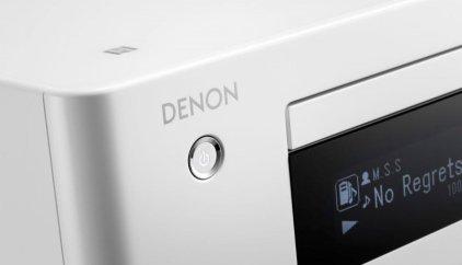 Музыкальный центр Denon CEOL Piccolo N4 white  (DRA-N4+SC-N4)