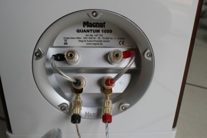 Напольная акустика Magnat Quantum 1009 S white