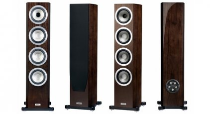 Tannoy Precision 6.4 satin walnut