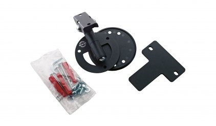 Крепление K&M 24161-000-56 поворотное настенное/потолочное крепление для АС весом до 15 кг, 2 вида крепежа в комплекте, чёрное