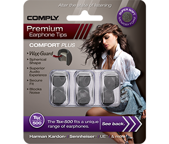 Амбушюры Comply Tsx-500 Black Medium (3 пары)