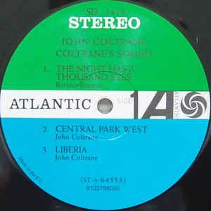 Виниловая пластинка John Coltrane COLTRANE'S SOUND (180 Gram)