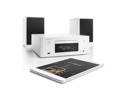 Музыкальный центр Denon CEOL N9 white (RCD-N9+SC-N9)