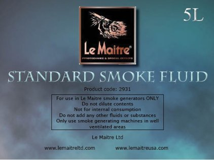 Аксессуар LE MAITRE STANDART FLUID 5 LTR