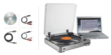 Проигрыватель винила Audio Technica AT-LP60 USB