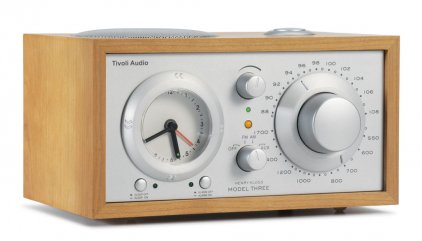 Радиоприемник Tivoli Audio Model Three cherry/silver (M3SLC)