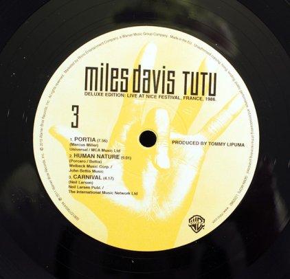 Виниловая пластинка Miles Davis TUTU (Deluxe Edition/180 Gram/Remastered)