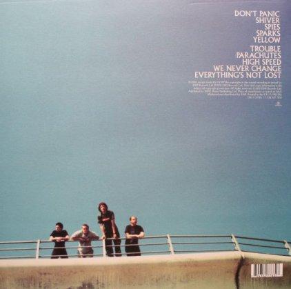 Виниловая пластинка Coldplay PARACHUTES (180 Gram)