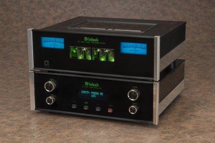 Контроллер усилителя McIntosh C1100C