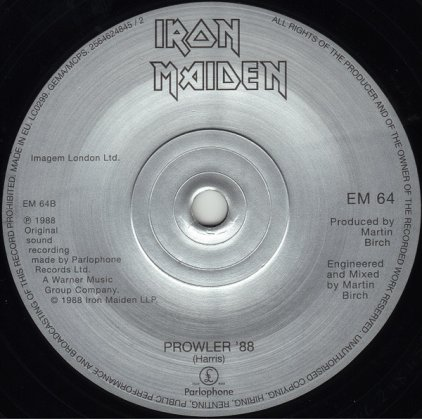 Виниловая пластинка Iron Maiden THE EVIL THAT MEN DO (Limited)