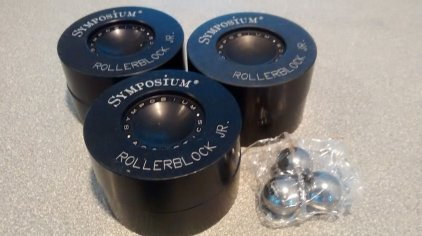 Роллерблок Symposium Acoustics Rollersblock JR. Carbide ball+ (3 шт.)