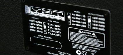 Комбо усилитель VHT AV-HW1-18