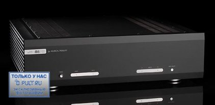 Усилитель звука Musical Fidelity M6PRX black