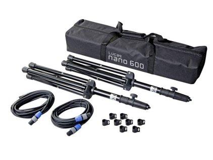 Стойка HK Audio HK AUDIO L.U.C.A.S. Nano 600 Add On Package 1 Набор аксессуаров для комплекта Nano 600, включает 2 стойки, 2 кабеля и сумку
