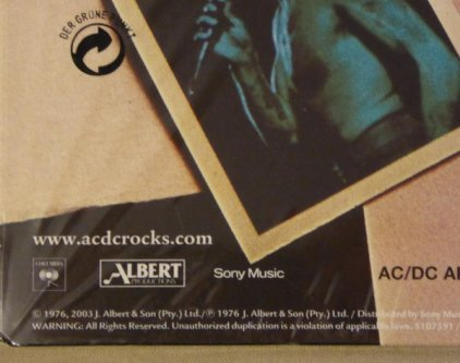 Виниловая пластинка AC/DC HIGH VOLTAGE (Remastered/180 Gram)