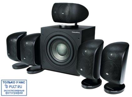 Комплект акустики B&W MT-50 black