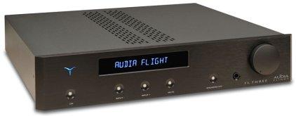 Усилитель интегральный Audia Flight Three USB DAC black