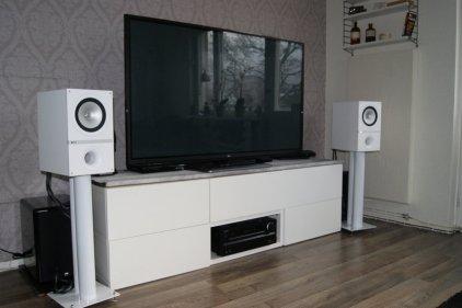 Полочная акустика KEF Q300 white vinyl