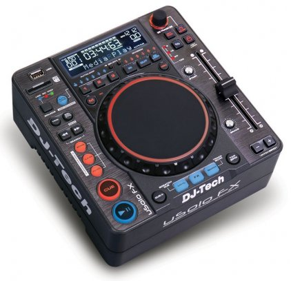 DJ-проигрыватель DJ-Tech uSolo FX BLK