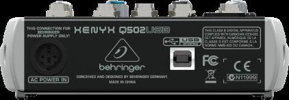 Микшерный пульт Behringer Q502USB