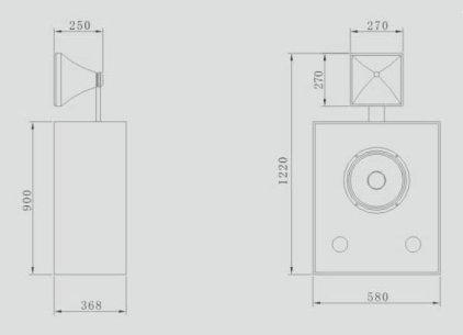 Акустическая система CINEMATIC C-115SC