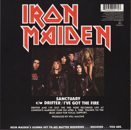 Виниловая пластинка Iron Maiden SANCTUARY (Limited)
