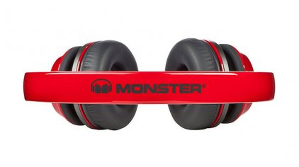 Наушники Monster NTune On-Ear Candy Red