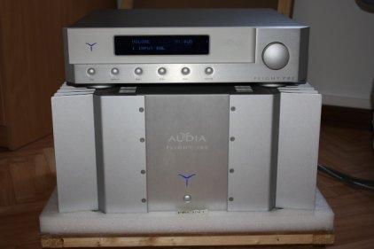Усилитель звука Audia Flight 100 silver