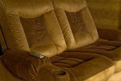 Кресло для домашнего кинотеатра Home Cinema Hall Classic Консоль ALCANTARA/120