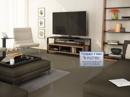 Подставка под ТВ и HI-FI BDI Sonda 8656
