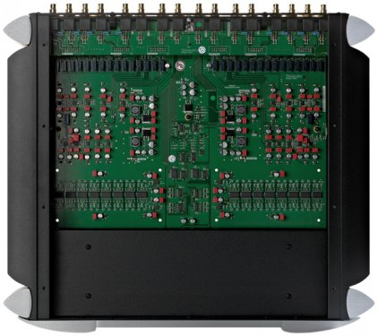 Предусилитель Sim Audio MOON 850P RS black (синий дисплей)