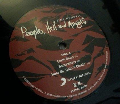 Виниловая пластинка Jimi Hendrix PEOPLE, HELL & ANGELS (W650)