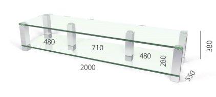Подставка Spectral Classics HE2002 KG-AL