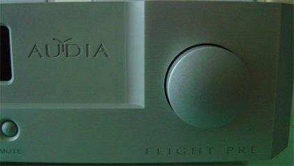 Предусилитель (стерео) Audia Flight Pre black
