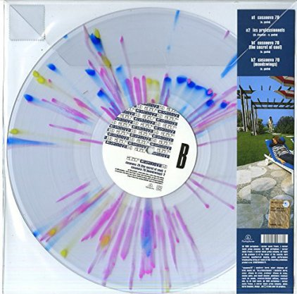 Виниловая пластинка Air CASANOVA 70 (RSD 2016/140g/translucent Splatter/4 tracks)