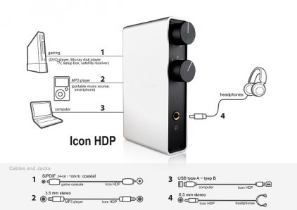 NuForce Icon HDP silver