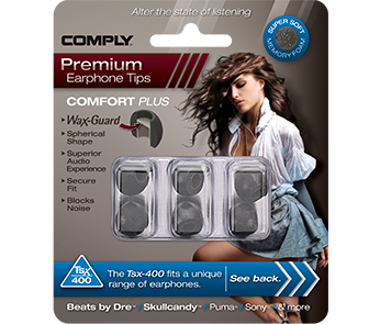 Амбушюры Comply Tsx-400 Black Medium (3 пары)
