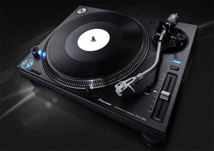 Проигрыватель винила Pioneer PLX-1000 black