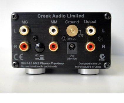 Фонокорректор Creek OBH-15 mk2 black