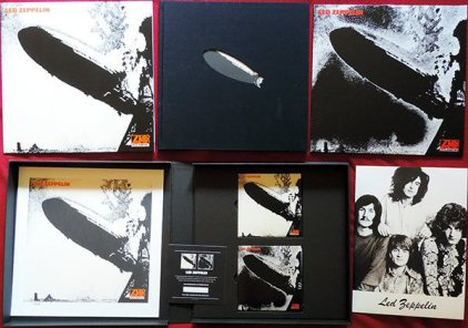 Виниловая пластинка Led Zeppelin LED ZEPPELIN (Super Deluxe Edition Box set/Remastered/2CD+3LP/180 Gram/Hardbound 72-page book)