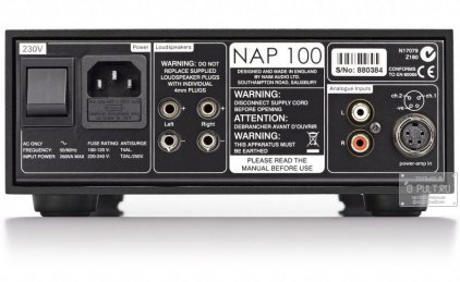 Усилитель мощности Naim NAP 100