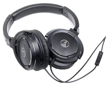 Наушники Audio Technica ATH-WS55i black